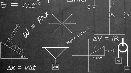 physics chalkboard course card [4]